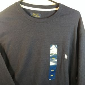 NWT Polo by Ralph Lauren Large Long Sleeve